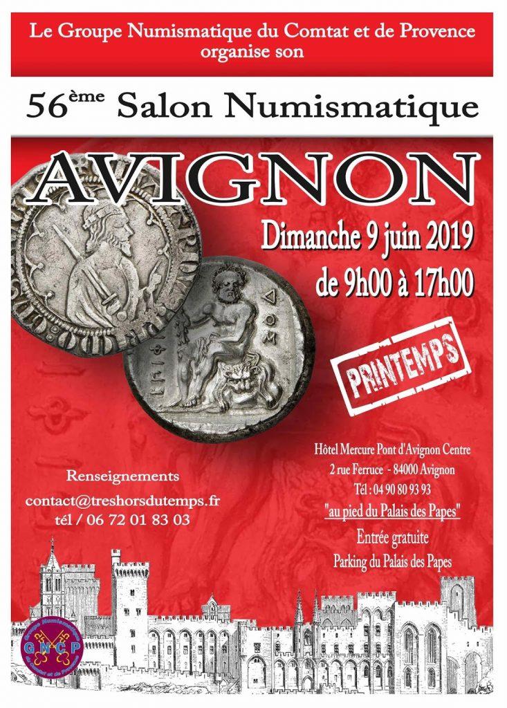 Image iNumis à la Bourse Numismatique d'Avignon !