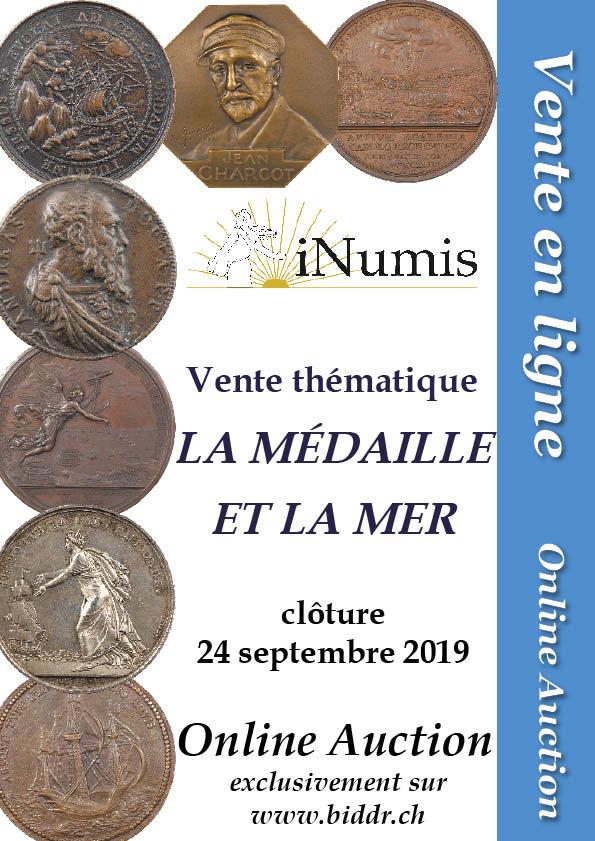 Image Online Auction iNumis : La médaille et la mer