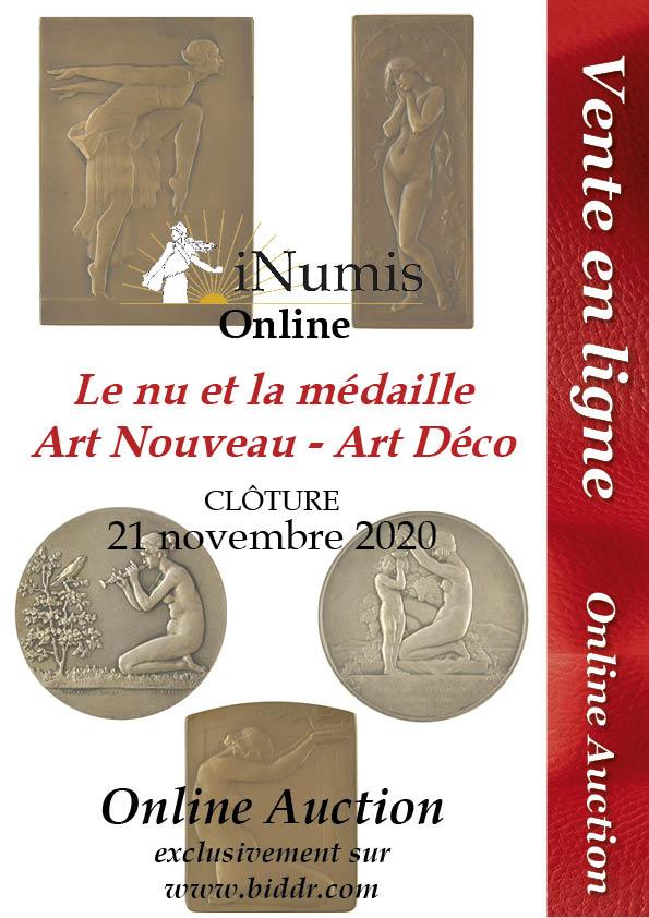 Image Vente Online : Le Nu en médailles